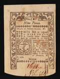 Colonial Notes:Rhode Island, Rhode Island May 1786 9d New.. ...
