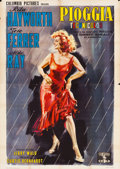 "Movie Posters:Drama, Miss Sadie Thompson (Columbia, 1953). Italian 4 - Foglio (55"" X 78"").. ..."