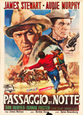 "Movie Posters:Western, Night Passage (Universal International, 1957). Italian 4 - Foglio (55"" X 78"").. ..."