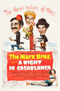 "Movie Posters:Comedy, A Night in Casablanca (United Artists, 1946). One Sheet (27"" X41"").. ..."