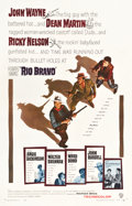 "Movie Posters:Western, Rio Bravo (Warner Brothers, 1959). One Sheet (27"" X 41.5"").. ..."