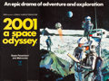 "Movie Posters:Science Fiction, 2001: A Space Odyssey (MGM, 1968). British Quad (30"" X 40"").. ..."