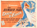 """Movie Posters:Musical, Down to Earth (Columbia, 1947). British Quad (30"""" X 40"""").. ..."""