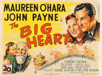"Miracle on 34th Street (20th Century Fox, 1947). British Quad (30"" X 40""). Comedy. Alternative Title: The Big..."
