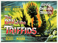 "Movie Posters:Science Fiction, The Day of the Triffids (Rank,1962). British Quad (30"" X 40"").. ..."