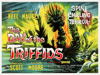 """The Day of the Triffids (Rank,1962). British Quad (30"""" X 40"""")"""