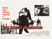 "The French Connection (20th Century Fox, 1971). British Quad (30"" X 40"")"