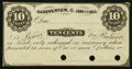 Obsoletes By State:Ohio, Hanoverton, OH- Unknown Issuer 10¢ Jan. 1, 1863 Remainder. ...