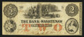 Obsoletes By State:Michigan, Ann Arbor, MI- The Bank of Washtenaw $2 May 1, 1864. ...