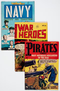 Golden Age (1938-1955):War, Comic Books - Golden and Silver Age War Comics Group (VariousPublishers, 1950s-'60s) Condition: Average VG/FN.... (Total: 31Comic Books)