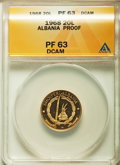 Albania, Albania: People's Republic gold Proof 20 Leke 1968 PR63 DCAMANACS,...