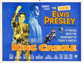 "Movie Posters:Elvis Presley, King Creole (Paramount, 1958). British Quad (30"" X 40"").. ..."