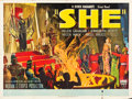"Movie Posters:Fantasy, She (RKO, 1935). British Quad (30"" X 40"").. ..."