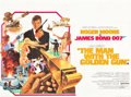 "Movie Posters:James Bond, The Man with the Golden Gun (United Artists, 1974). British Quad(30"" X 40"").. ..."