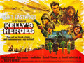 "Movie Posters:War, Kelly's Heroes (MGM, 1970). British Quad (30"" X 40"").. ..."