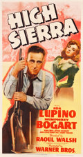 "Movie Posters:Film Noir, High Sierra (Warner Brothers, 1941). Three Sheet (41.5"" X 79"")....."