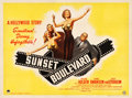 "Movie Posters:Film Noir, Sunset Boulevard (Paramount, 1950). British Quad (30"" X 40"").. ..."