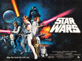 "Movie Posters:Science Fiction, Star Wars (20th Century Fox, 1978). British Quad (30"" X 40"") StyleC.. ..."
