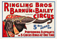 "Circus Poster (Ringling Brothers and Barnum & Bailey, 1932). Poster (28.25 X 42"")"