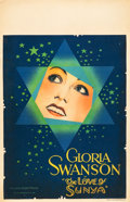 "The Love of Sunya (United Artists, 1927). Window Card (14"" X 22"")"