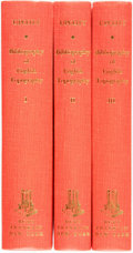 Books:Reference & Bibliography, William Upcott. A Bibliographical Account of the Principal Works Relating to English Topography. In Three Volumes. N... (Total: 3 Items)
