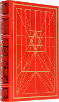 Books:Fine Bindings & Library Sets, Chaim Potok. SIGNED. The Gift of Asher Lev. Franklin Library, 1990. Signed by the author....