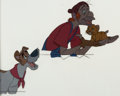 Animation Art:Production Cel, Oliver and Company Oliver, Dodger, and Fagin Production CelSetup (Walt Disney, 1988)....