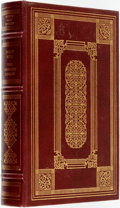 Books:Fine Bindings & Library Sets, Philip Roth. SIGNED. The Anatomy Lesson. Franklin Library, 1983. Signed by the author....