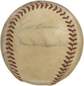 Autographs:Baseballs, 1956 All-Stars Baseball Signed by 11. Eleven members of theAmerican and National All-Star squads have enhanced the Officia...