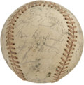 Autographs:Baseballs, 1976 Philadelphia Phillies Team Signed Baseball. The 1976Philadelphia Phillies was a strong side, making it to the NLCSbe...