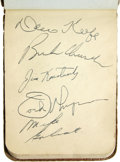Autographs:Letters, 1950's Autograph Book Book 2. Autograph book from the 1950's filledwith over 200 signatures including among others are Hal...