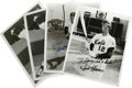 Autographs:Letters, New York Baseball Players Signed Photographs and Schedule Lot of 7.A great mix of players that spent part or all of their ...