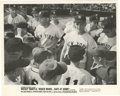 Baseball Collectibles:Photos, Mickey Mantle/Roger Maris Photograph Lot of 2. Unique black and white photographs of Mickey Mantle and Roger Maris. These p...