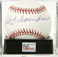 Autographs:Baseballs, Red Schoendienst Single Signed Baseball, PSA Gem Mint 10. Thelife-long St. Louis Cardinal and Hall of Famer provides a sing...