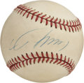 Autographs:Baseballs, Hideo Nomo Single Signed Baseball. One of the most popular pitchersin Japan, Nomo came to the United States and began his ...