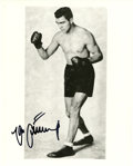 Boxing Collectibles:Autographs, Gene Tunney Signed Photograph. Holding the title of HeavyweightChampion of the World from 1926-1928, Gene Tunney twice def...