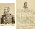 "Autographs:Military Figures, Admiral David D. Porter Autograph Document Signed, one page, 5.5"" x8"", n.p., June 25, 1880. A tribute to President Lincoln,..."