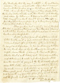 """Autographs:Inventors, Samuel F. B. Morse Autograph Letter Signed """"Saml F. B.Morse,"""" two pages, 5"""" x 6.75"""", front and verso. Harrison HudsonC... (Total: 1 Item)"""