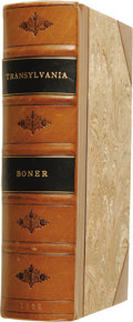 Books:Non-fiction, Charles Boner: Transylvania; Its Products and Its People....