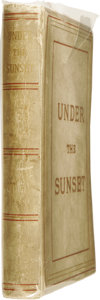 Books:First Editions, Bram Stoker: Under the Sunset (London: Chiswick Press, C.Whittingham & Co. for Sampson Low, Marston, Searle, andRiving... (Total: 1 Item)