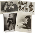 "Music Memorabilia:Photos, Various Vintage R&B Press Photos. Set of five vintage b&w8"" x 10"" press photos includes shots of Bobby ""Blue"" Bland withB.... (Total: 1 Item)"