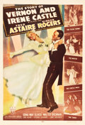 "Movie Posters:Musical, The Story of Vernon and Irene Castle (RKO, 1939). One Sheet (27"" X 41"") Style B.. ..."
