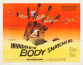 """Movie Posters:Science Fiction, Invasion of the Body Snatchers (Allied Artists, 1956). Half Sheet (22"""" X 28"""") Style A.. ..."""
