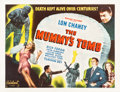 "Movie Posters:Horror, The Mummy's Tomb (Realart, R-1948). Half Sheet (22"" X 28"").. ..."