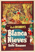 "Movie Posters:Animation, Snow White and the Seven Dwarfs (RKO, 1937). Argentinean Poster(29"" X 43.25"").. ..."
