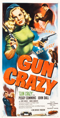 "Movie Posters:Film Noir, Gun Crazy (United Artists, 1949). Three Sheet (41"" X 79"").. ..."