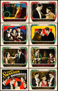 "Movie Posters:Drama, Manhandled (Paramount, 1924). Lobby Card Set of 8 (11"" X 14"").. ...(Total: 8 Items)"