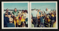 Football Collectibles:Photos, 1967 Bart Starr and Ray Nitschke Original Photographs Lot of 2....