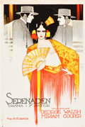 "Movie Posters:Drama, Serenade (Associated First National, 1921). Norwegian One Sheet(24.75"" X 37"").. ..."