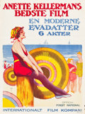 "Movie Posters:Comedy, What Women Love (First National, 1920). Full-Bleed Norwegian OneSheet (25.5"" X 34.5""). Comedy.. ..."